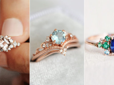 10 Romantic Promise and Engagement Ring Ideas for a Holiday Proposal