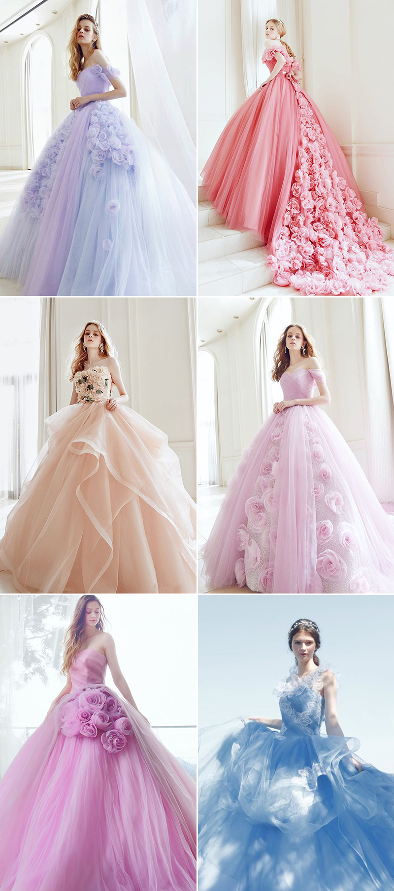 princess evening reception gowns