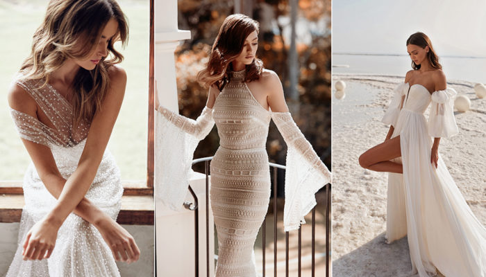 30 Elegant Wedding Dresses For the Bold Free-Spirited Bride