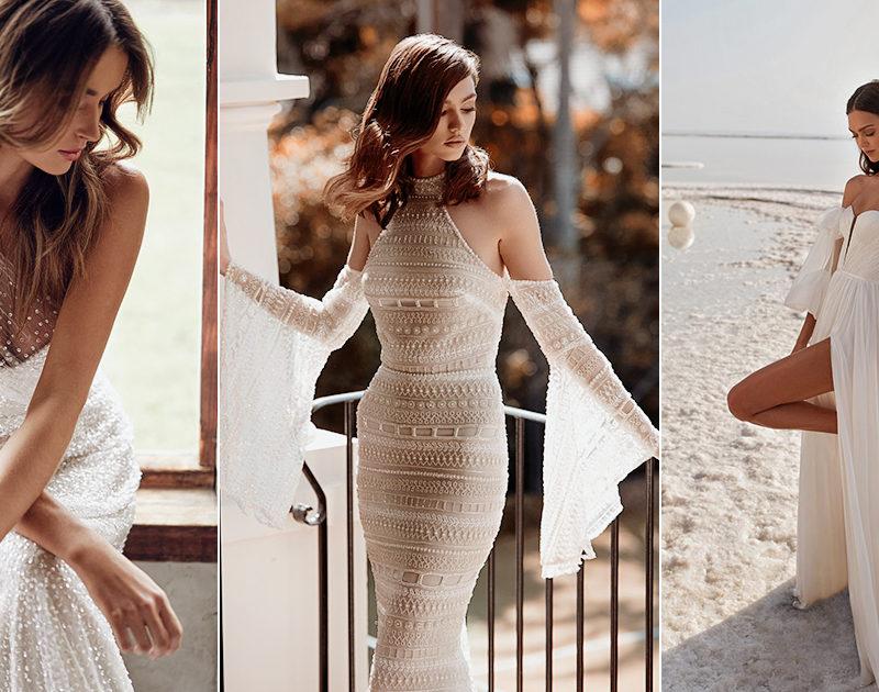 30 Elegant Wedding Dresses For the Bold Free-Spirited Bride