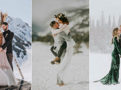 7 Magical Winter Elopements To Fulfill Your Snowy-Weather Wanderlust