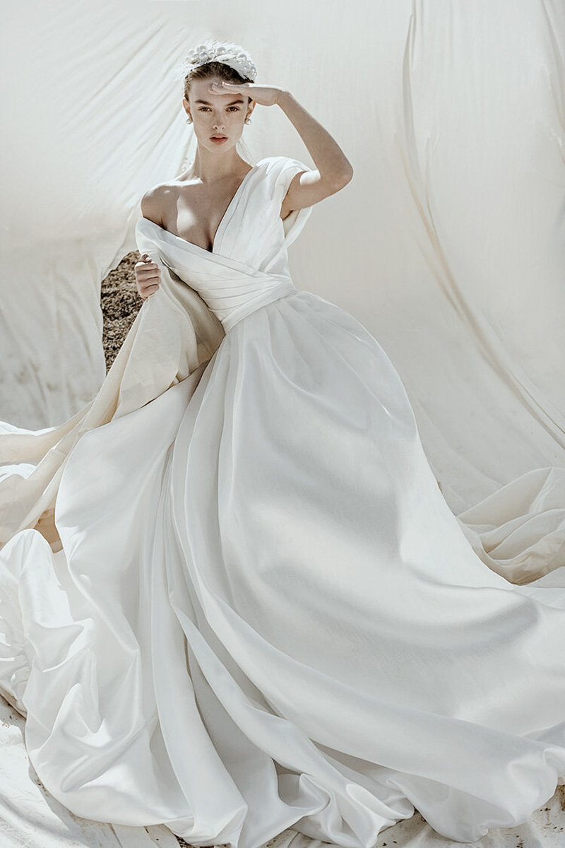 modern queen wedding dresses