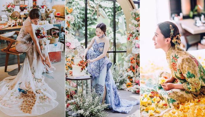 16 Stunning Chinese Wedding Gowns and Themes With A Fusion Touch