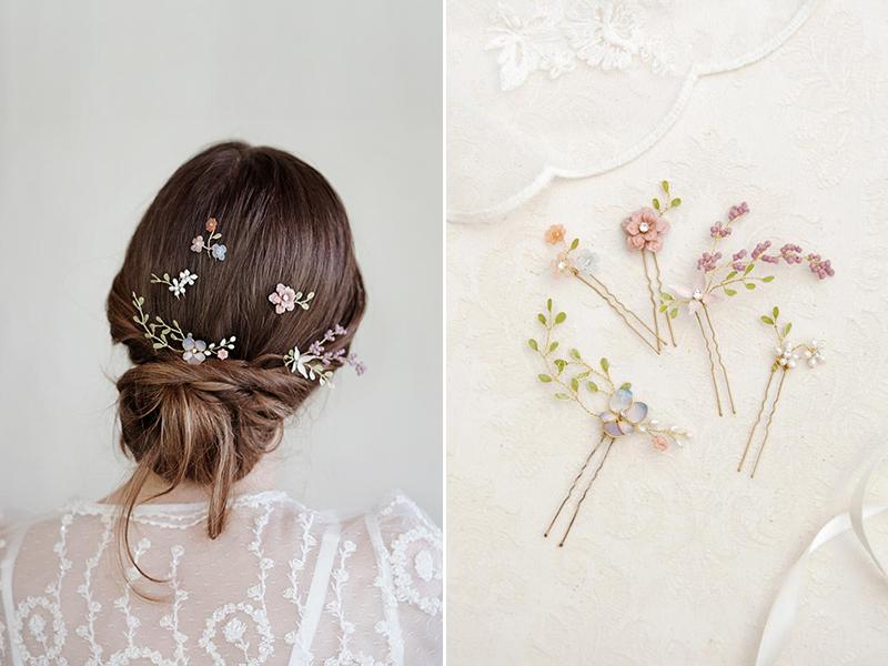 Meadow Flowers Hairpins