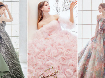 23 Princess-Worthy Japanese Colored Wedding Dresses