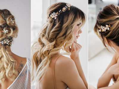 One Headpiece for All Wedding Hairstyles! 10 Versatile Bridal Hair Accessories You Can Wear Multiple Ways