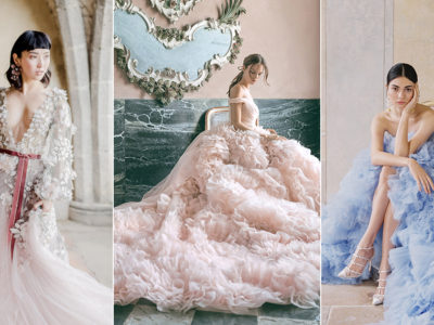 15 Wedding Dresses that Portray Vintage Romance With An Enchanted Spirit