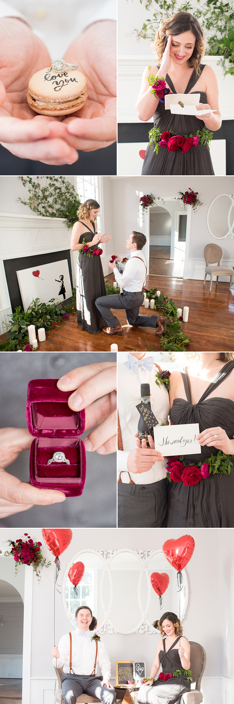 At home proposal