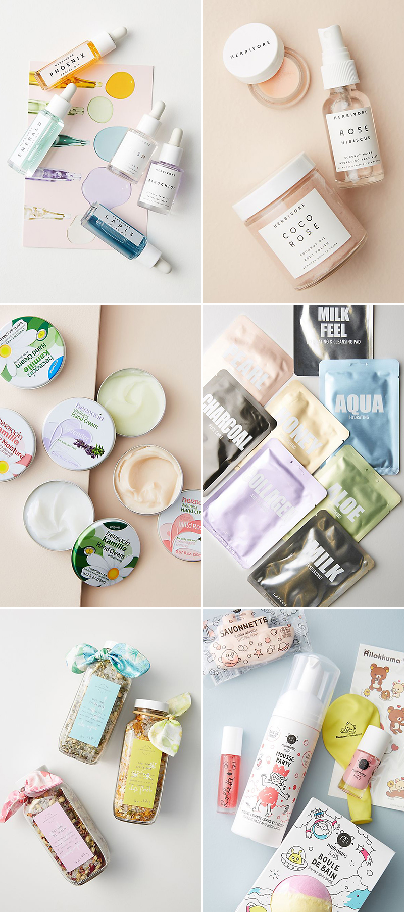 Beauty and wellness sets