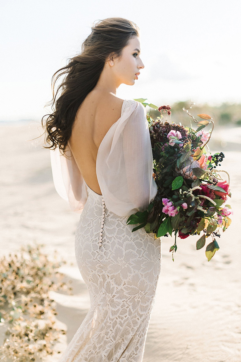figure-flattering wedding dresses