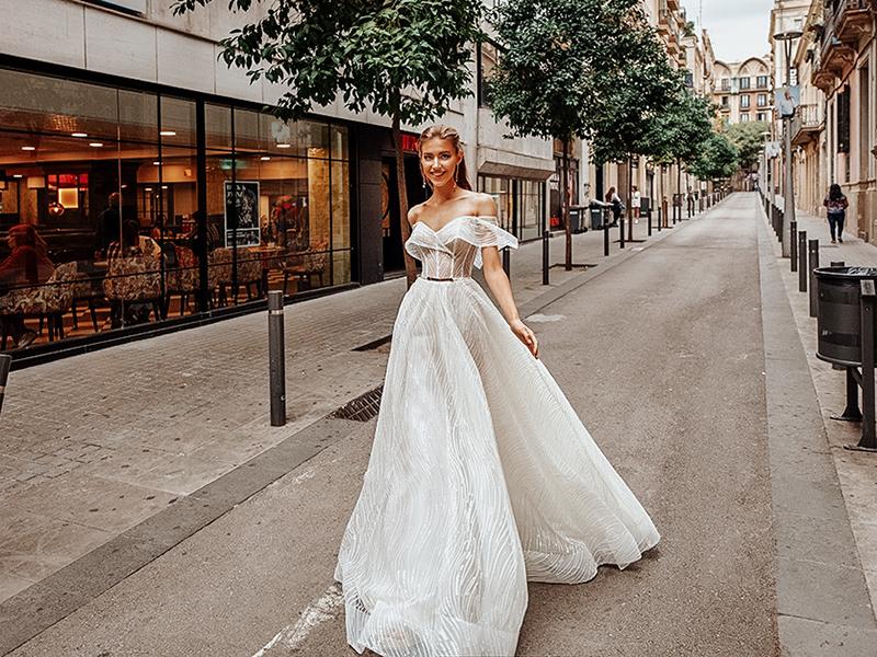 figure-flattering wedding dresses