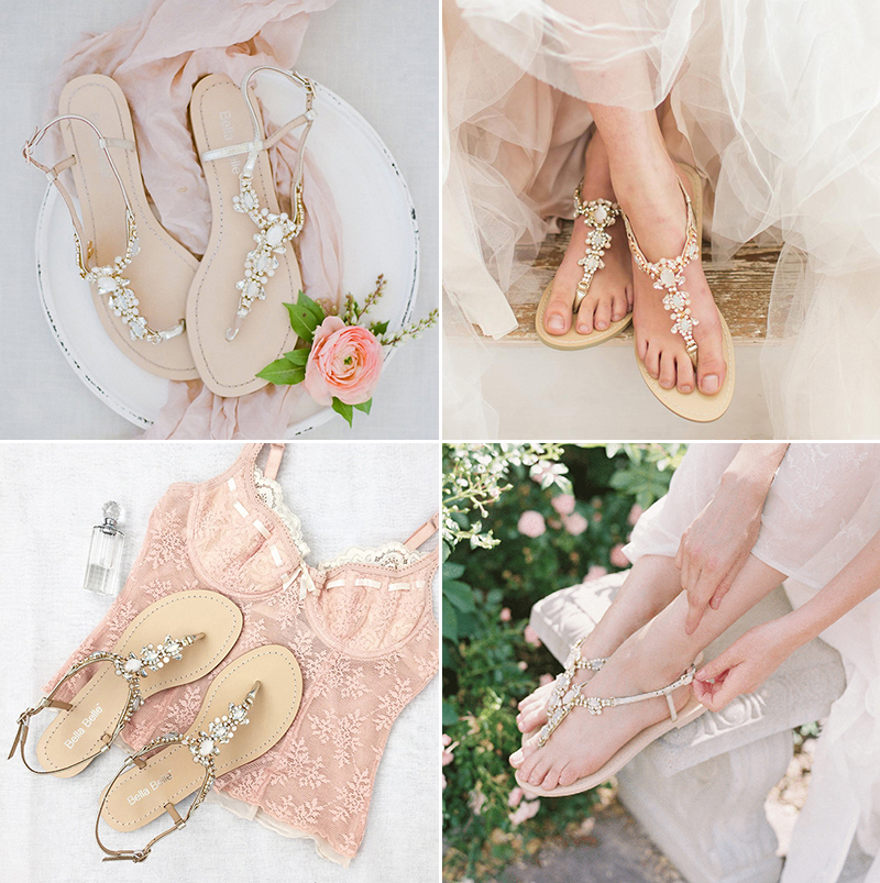 Luna Crystal Jewel Gold Dress Sandals