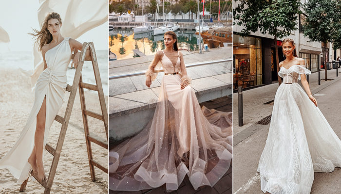 15 Figure-Flattering Wedding Dresses for Modern Avant-Garde Brides