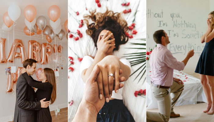 Romantic Ideas To Make A Marriage Proposal At Home Extra Special