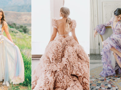15 Calming Colored Gowns to Soothe Your Soul and Reduce Stress