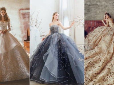 18 Sparkly Wedding Dresses for the Romantic Bride