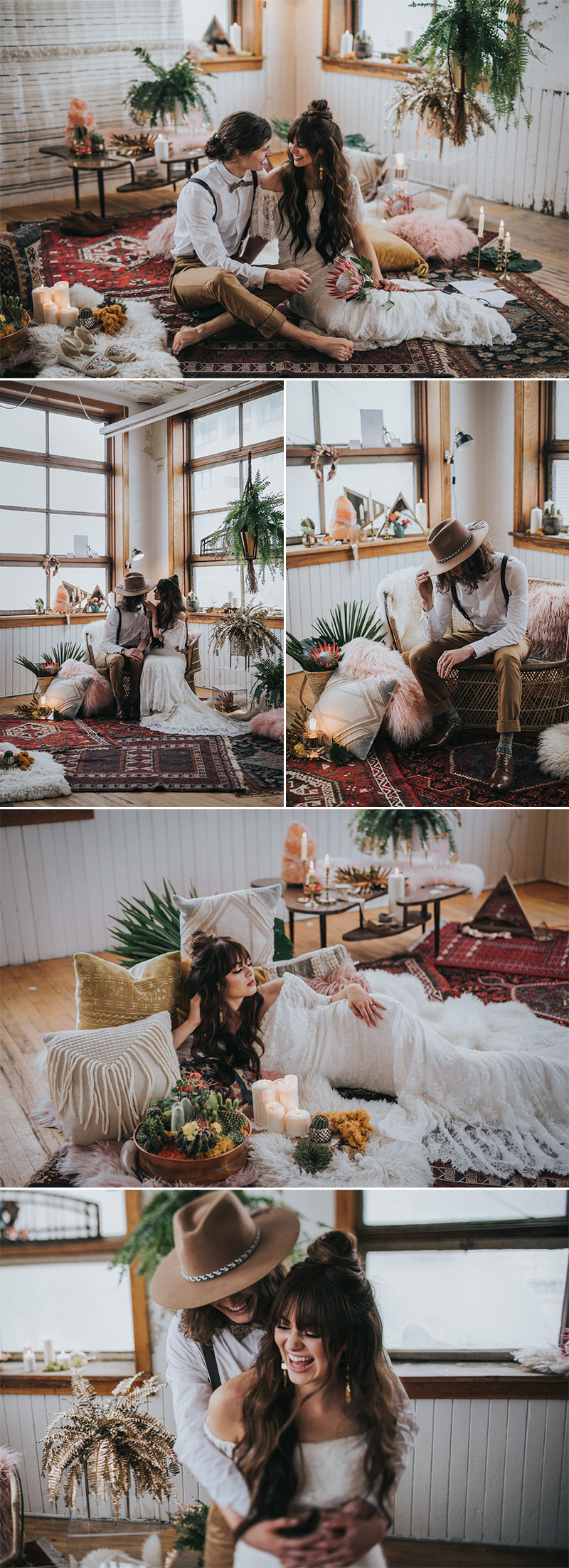 styled shoot at home