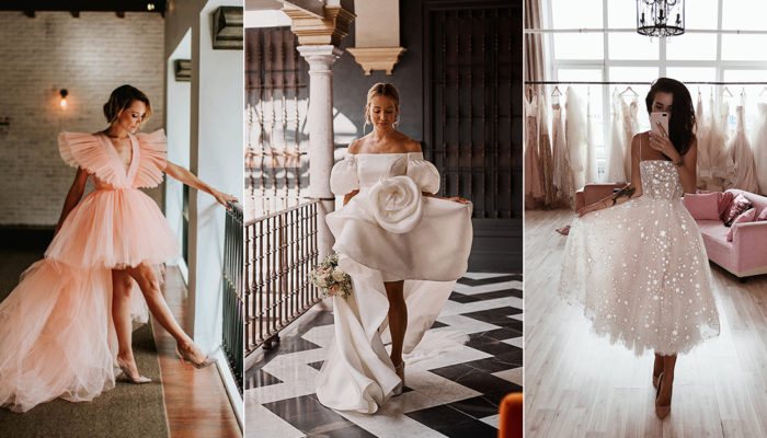 15 Chic Style-Approved Wedding Dresses for Modern Real Brides