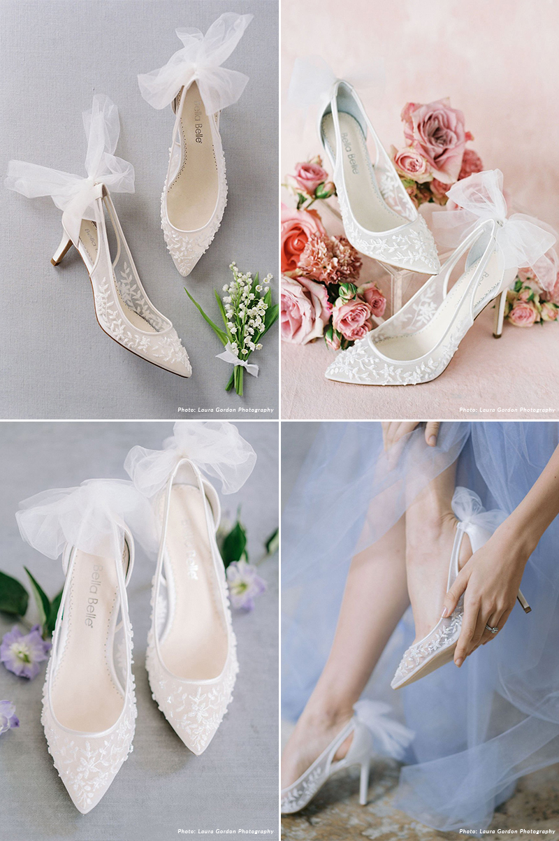 Comfortable Low Heel Wedding Shoes