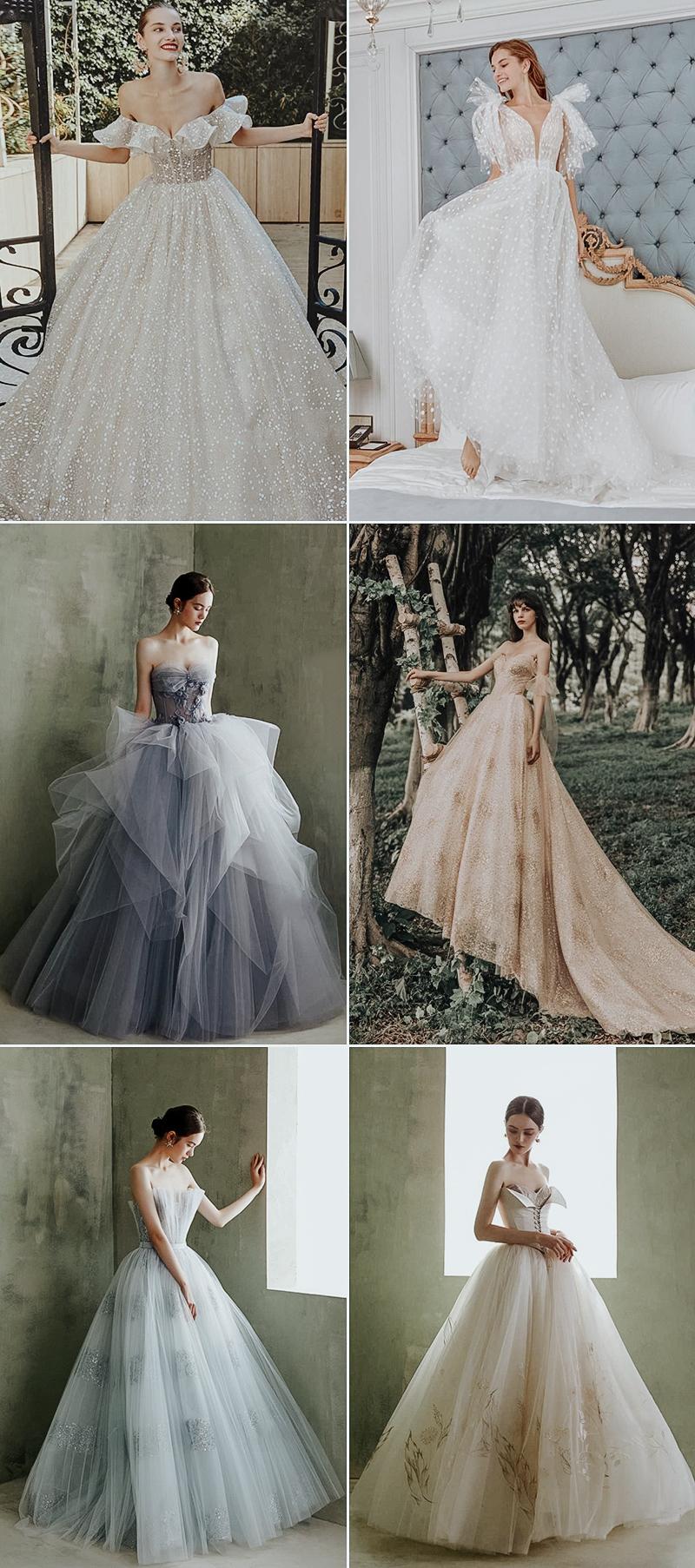 fashion fairy tale wedding dress