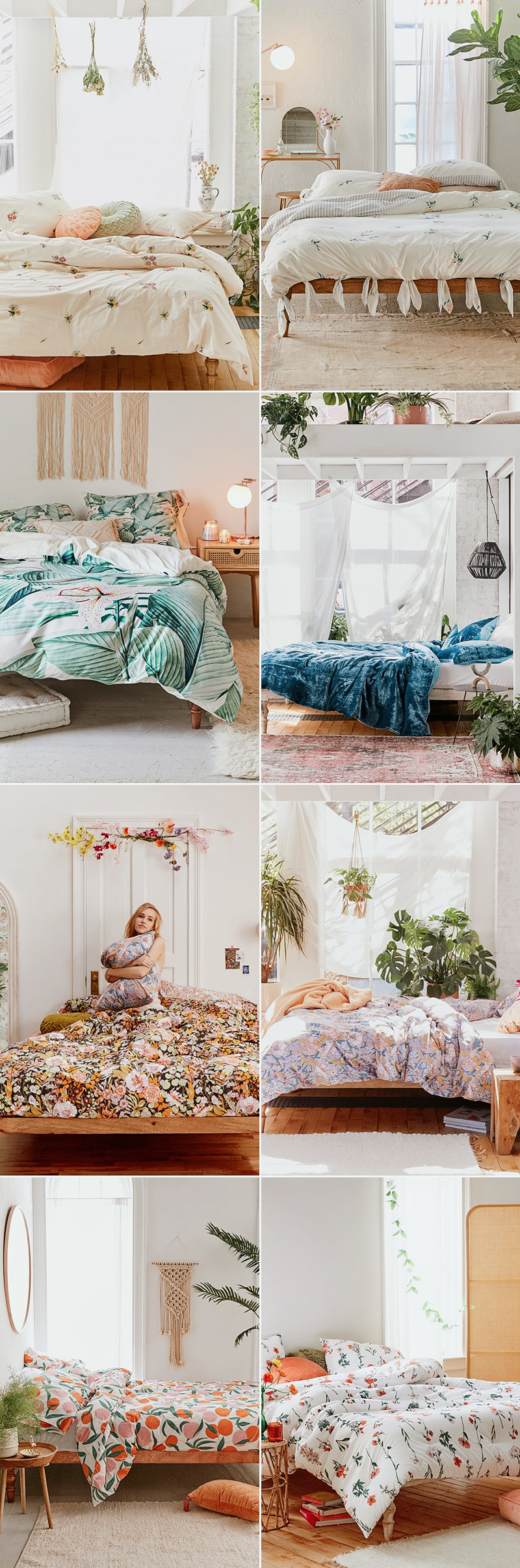 wedding gift idea nature inspired bedding