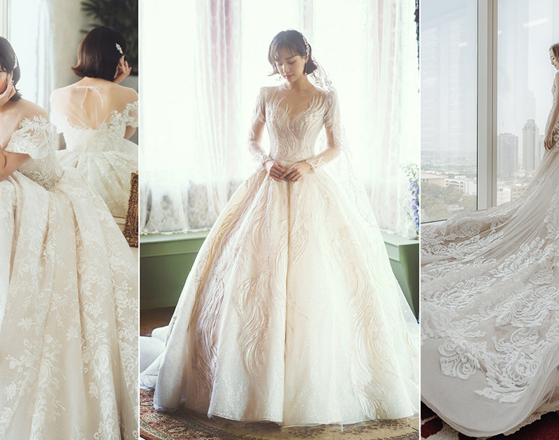 30 Ultra Romantic Wedding Dresses with a Touch of Modern Magic