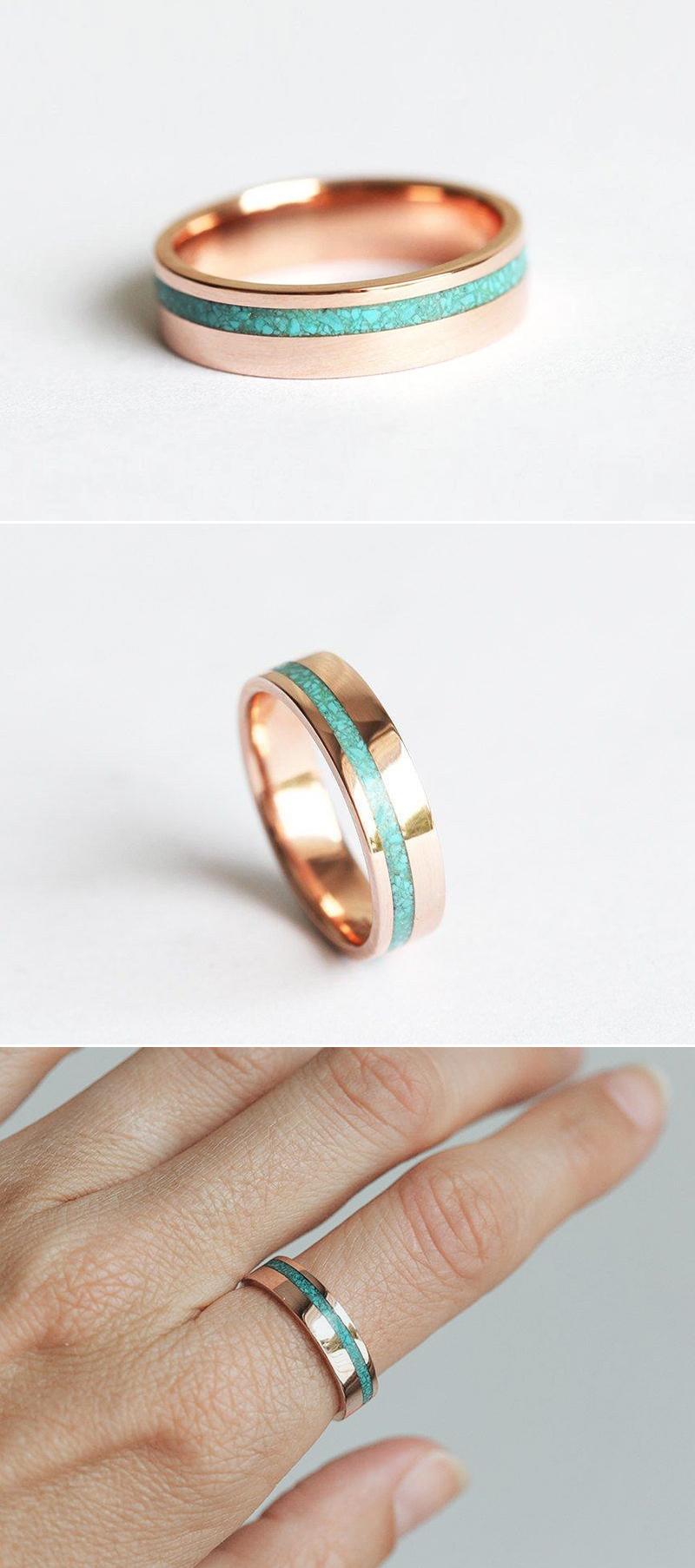 Unisex Turquoise Ring