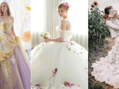 16 Beautiful Wedding Dresses To Lighten Up The Mood With Joy and Hope