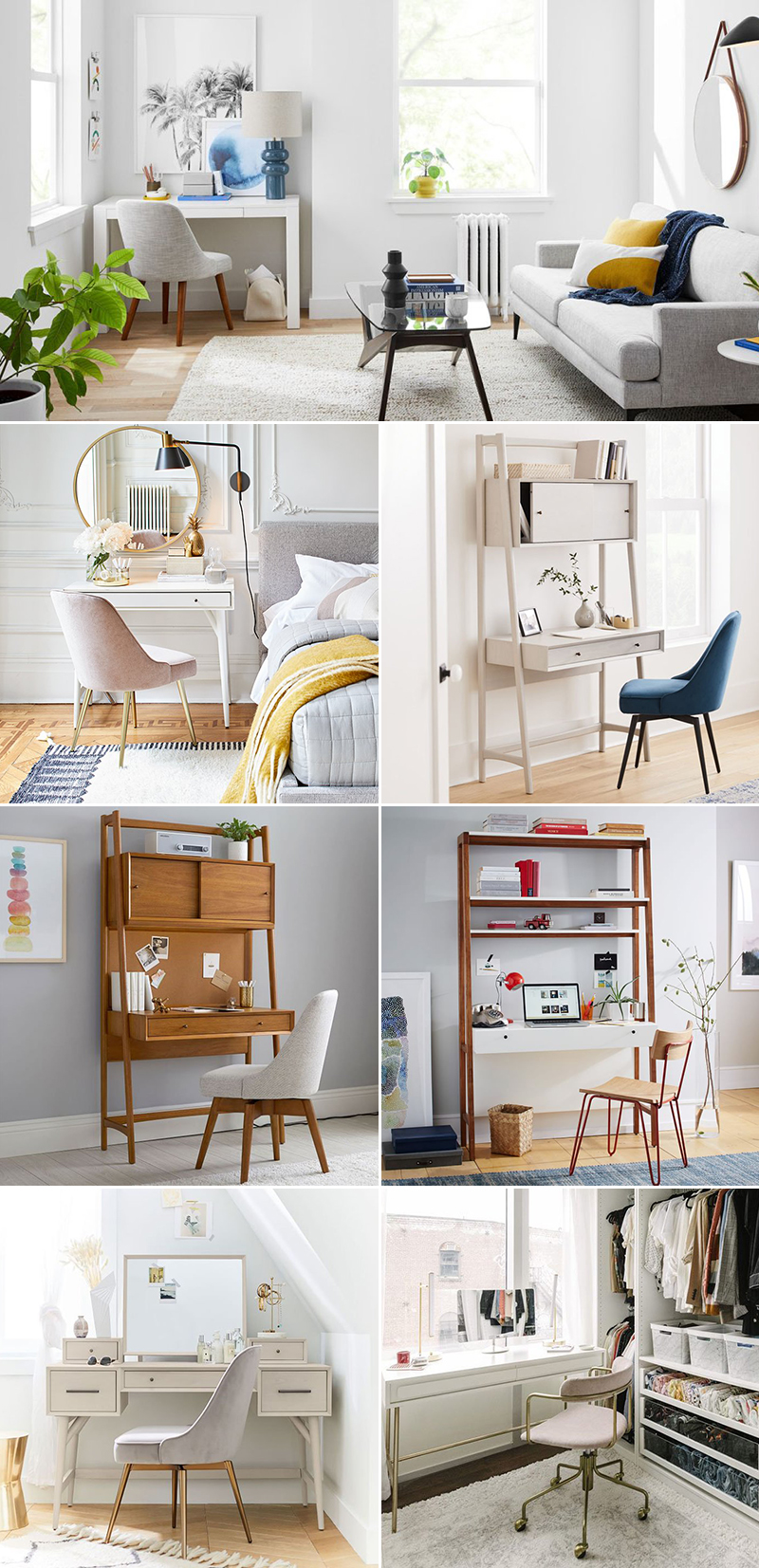 home office decor idea for small space