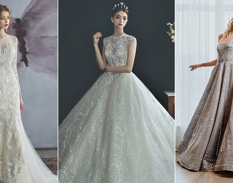 15 Sparkly Classic Wedding Dresses That Present Timeless Glamour