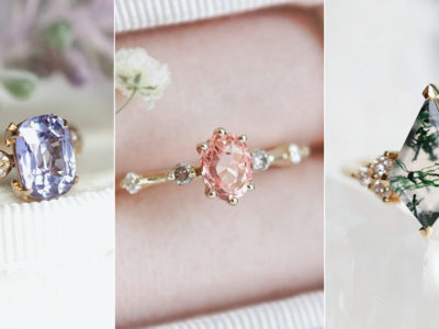 Why Colored Stone Engagement Rings Are Crazy Popular? 6 Gemstone Trends Millennials Are Loving