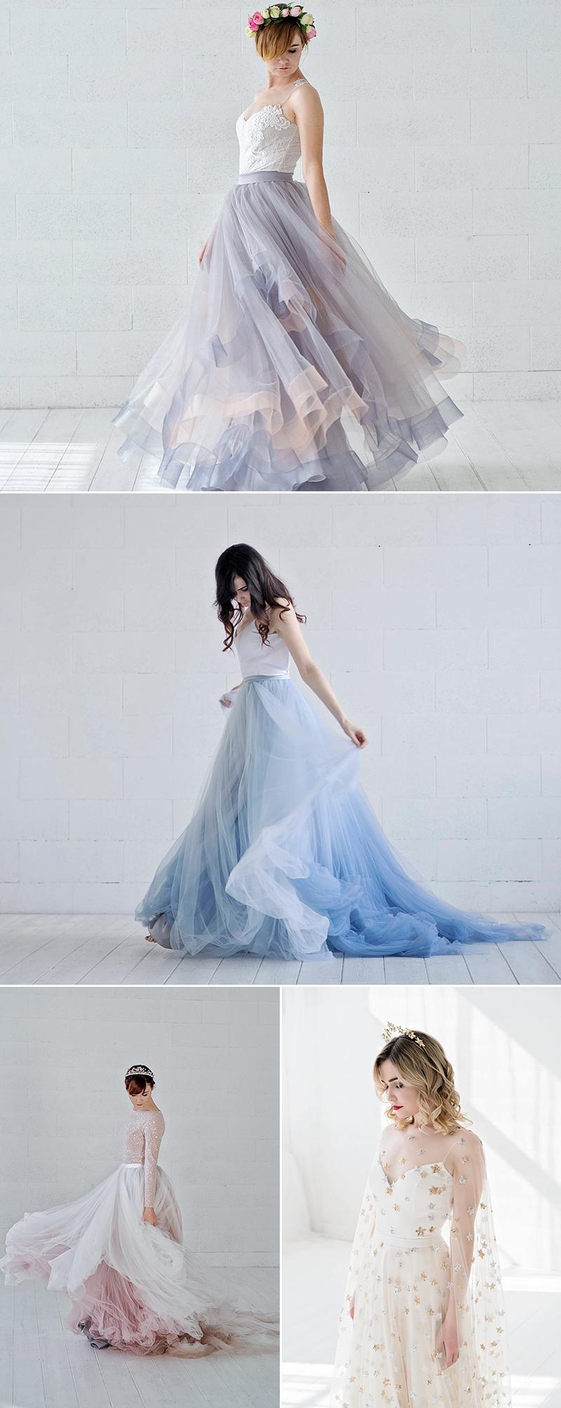 romantic handmade wedding dresses
