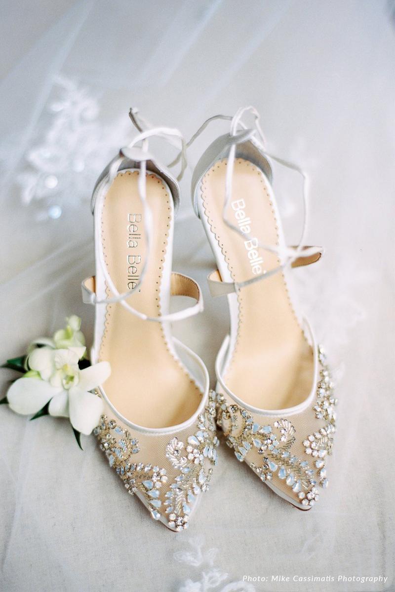 romantic wedding shoes