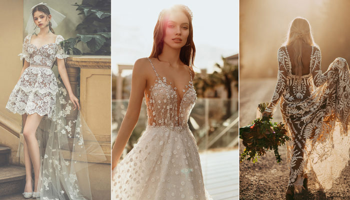 18 Beautiful Summer Wedding Dresses that Speak to the Season