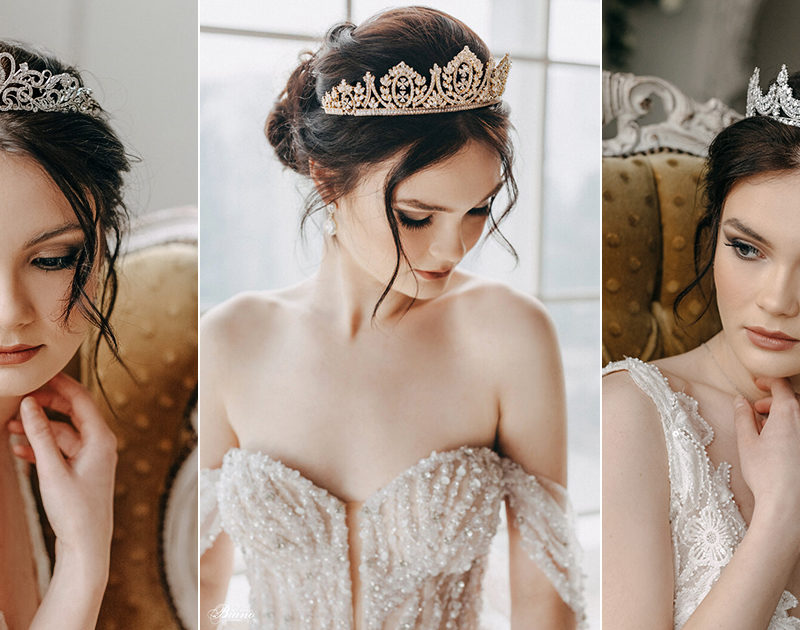 10 Unique Princess-Worthy Wedding Tiaras and Crowns That Will Make Any Bride Feel Like Royalty