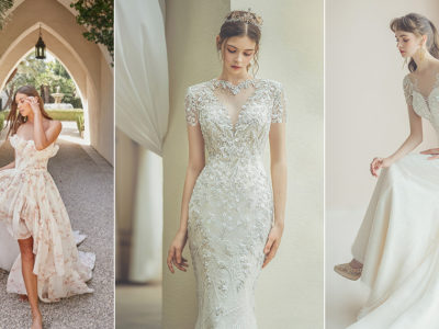 14 Beautiful Wedding Dresses for Your Minimony or Intimate Wedding