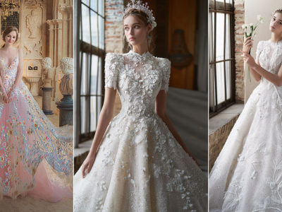 15 Modern Wedding Dresses Featuring Incredible Statement Details