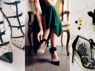12 Timelessly Beautiful Black Evening Shoes For Your Wedding and Special Occasion