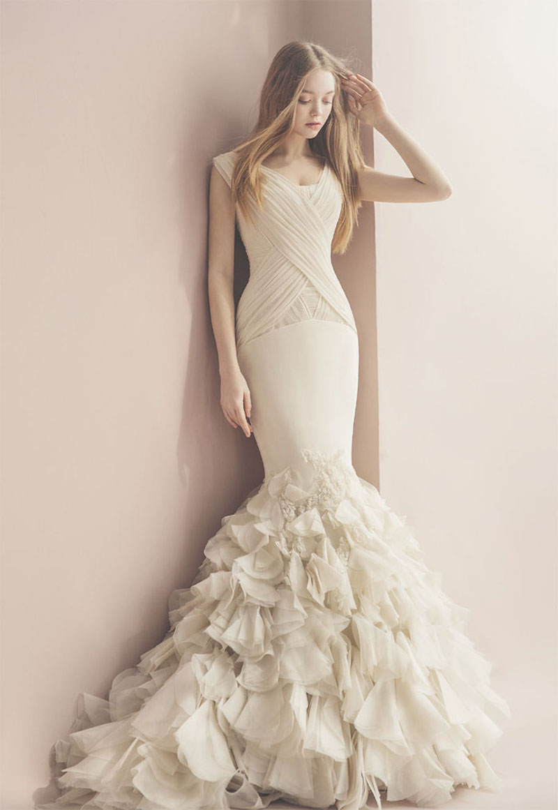 elegant romantic wedding dress