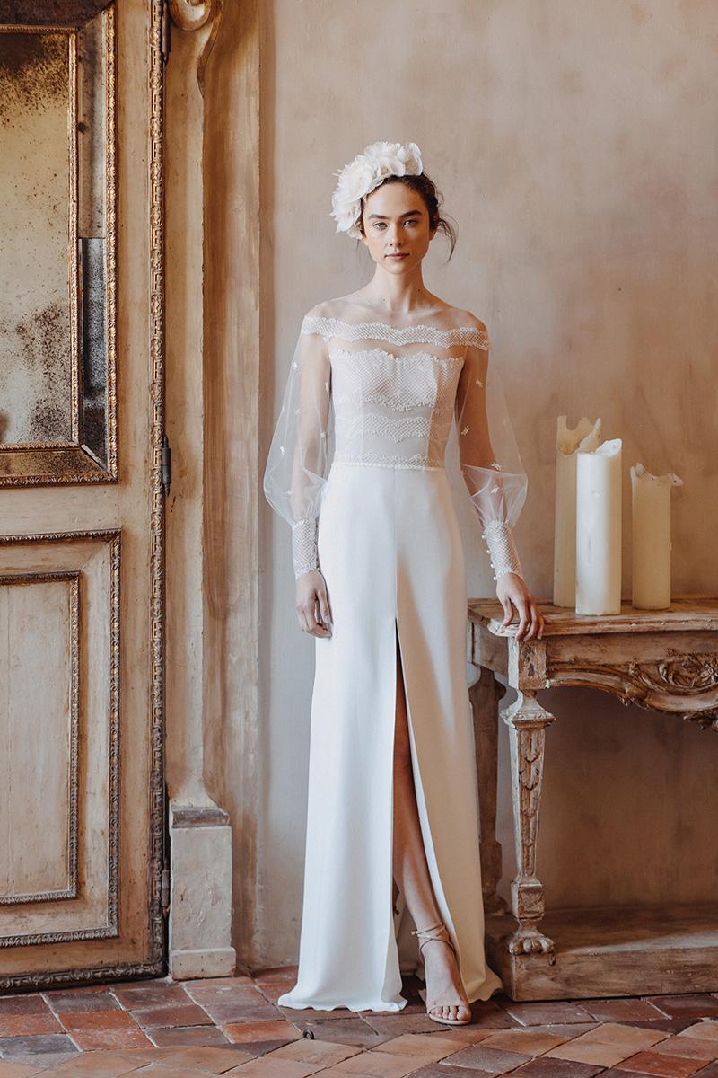 elegant romantic wedding dress