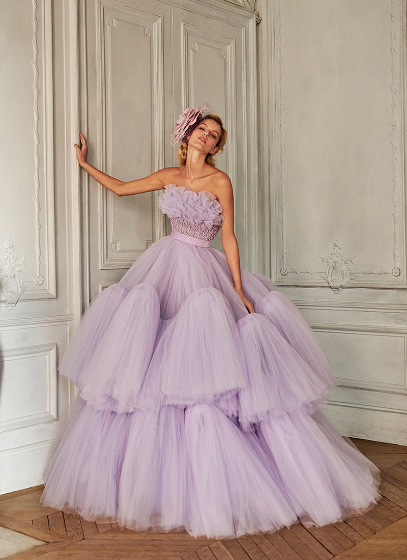 fashion evening gown reception dress