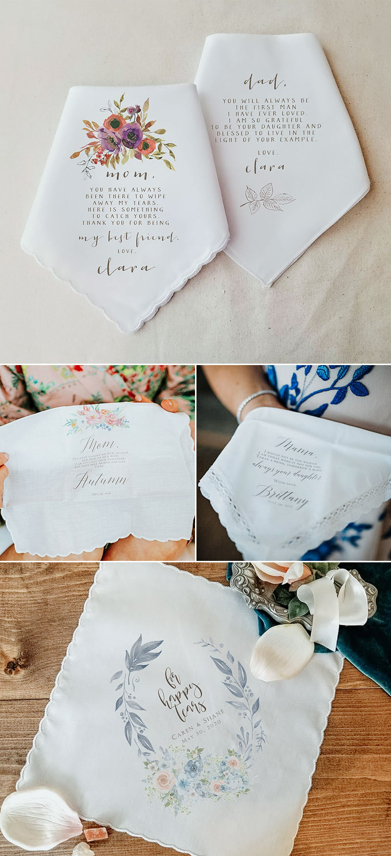 Handkerchief Invitations