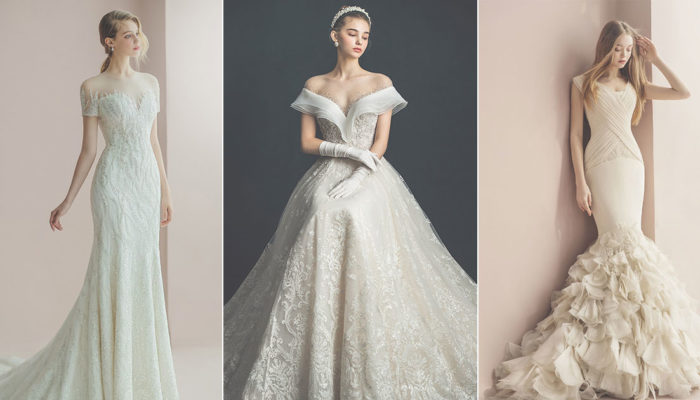 16 Romantic Elegant Wedding Dresses Featuring Feminine Accent and Refined Silhouettes