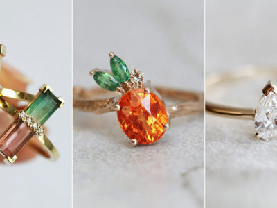 Nature's Candy! 8 Creative Fruit-Inspired Engagement Rings To Show Your Sweet Love
