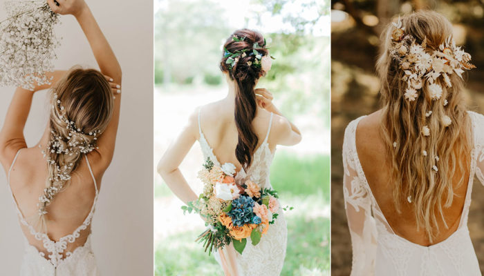 12 New Ways To Wear Your Hair Down for the Wedding! Dazzling Natural Hairstyles For the Modern Bride!