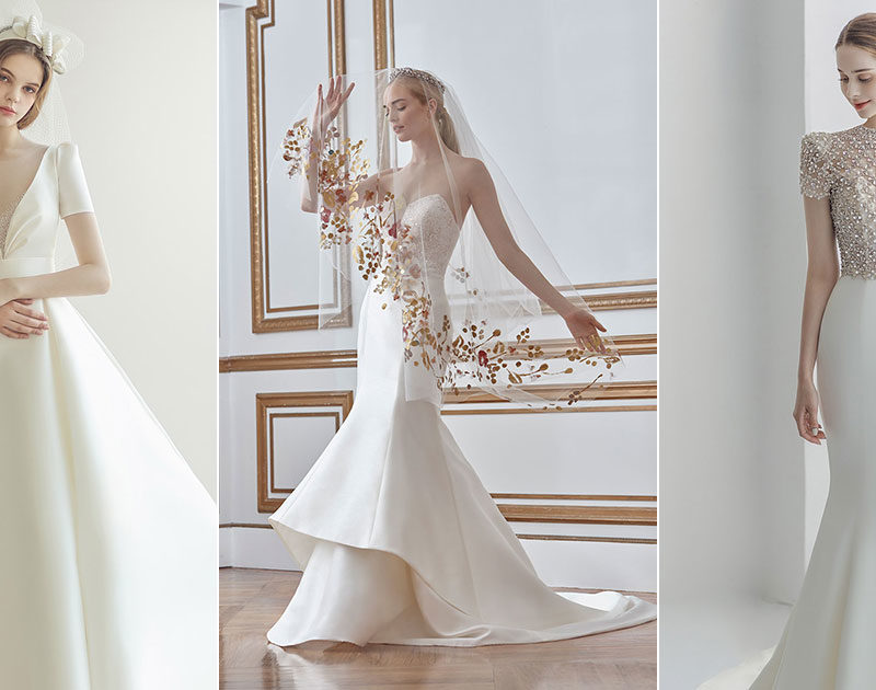14 Simple Minimalist Wedding Dresses That Prove Less Is More