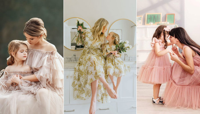 The Best Mommy and Me Outfits to Match With Your Mini! 11 Mother-Daughter Dresses You'll Both Love!