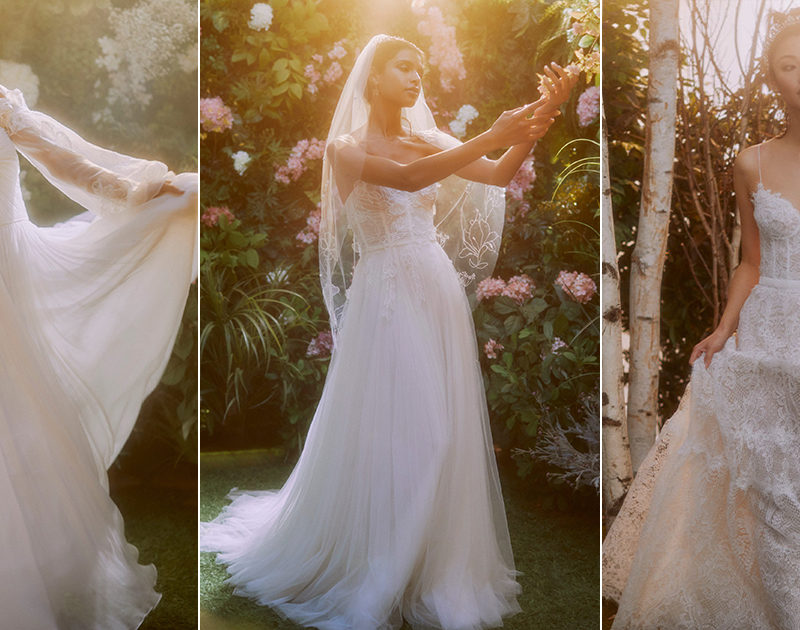 Beautiful Wedding Dresses and Bridal Accessories for Your Spring Summer 2021 Celebration!