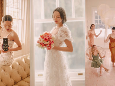 A Beautiful Spring Wedding Dress Collection Featuring The Biggest Fashion Trends