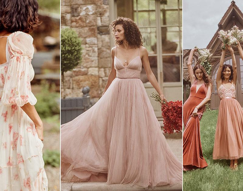Trending Now: Blush Bridal Look